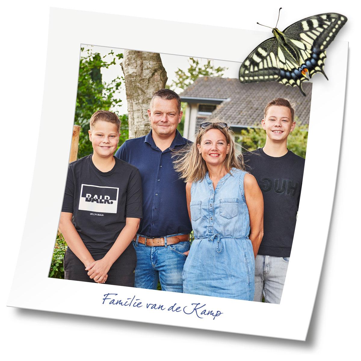 Familie van de Kamp